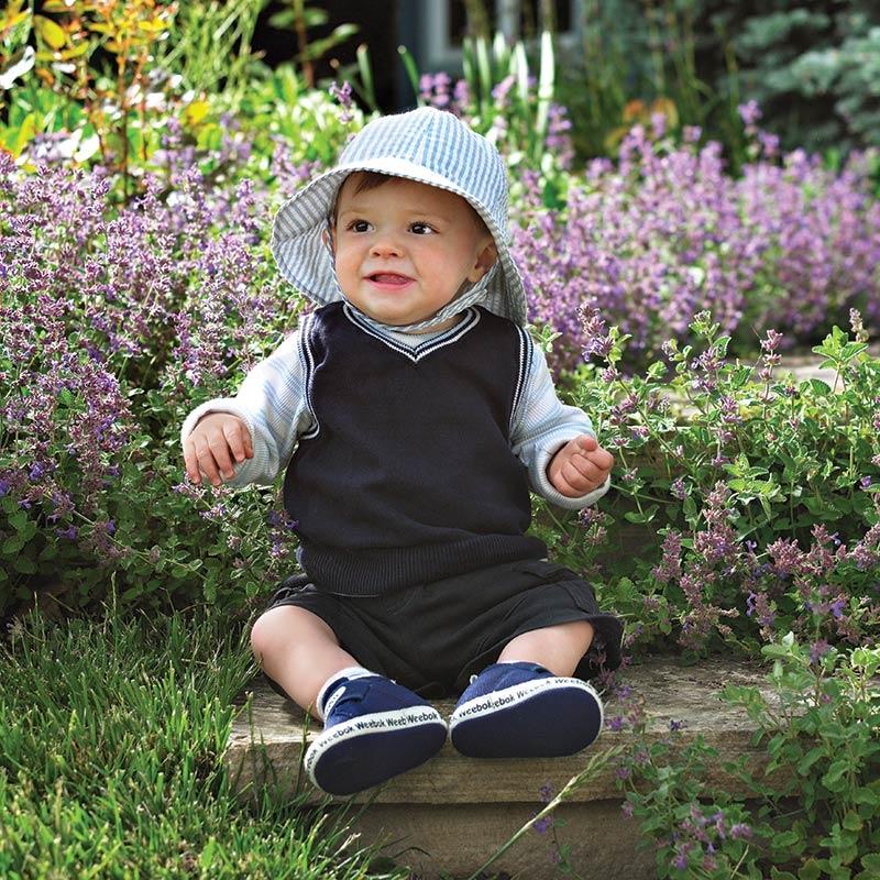 Blue Lorikeet Baby Hat