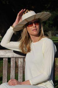 Cotton Fan Hats Non UV Protective