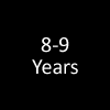 8 - 9 years