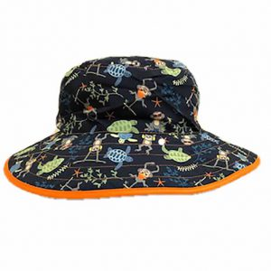 banz childrens reversable sun hats Navy Jungle Hat Pattern