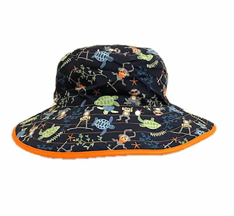 banz childrens reversable sun hats Navy Jungle Hat Pattern